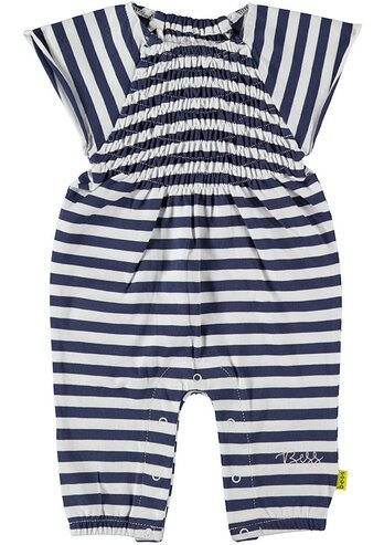 Suit Striped Smock